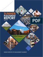 IIM Kashipur Summer Placement Report 2017