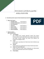 Format Penulisan Laporan Laporan Psg