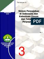 Pert 1. Sistem Perpajkan@2016