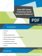 How ERP solves 5 common business problems.