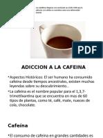 Adiccion a La Cafeina1