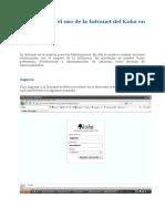 Tutorial para el uso de la Intranet del Koha en la UNC.docx