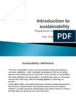 1.Introduction to Sustainability