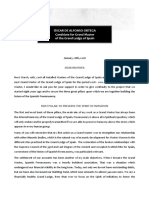 Proposals for Action - MWBro Óscar de Alfonso Ortega