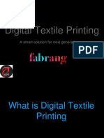 Advanced Digital Textile Printing Course | Future of Textile Printing is here