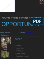 Digital Textile Printing Course