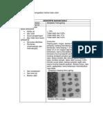 Pemeriksaan Spesifikasi Bahan Baku Obat bahan alam