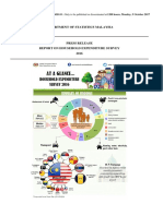 Report on Household Expenditure Survey 2016