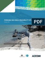 Poruma Sea Wall Feasbility Study