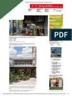 Nishizawa Architects Adds Movable Walls to Multi-family Home