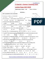 10th Maths Centum Coaching Team Question Paper 4