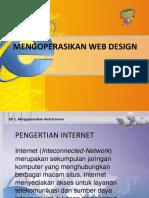 Mengoperasikan Web Design5