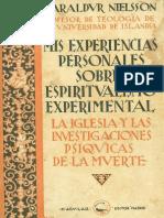 Mis Experiencias Personales Sobre Espiritualismo Experimental