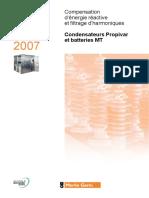 Condensateur MT Francais - 2007