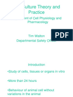 Cell Culture Theory and Practice