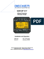 Becker SAR-DF 517 Manual