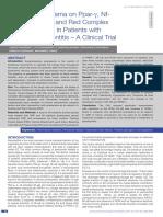 Efectul pranayama in tratarea bolii parodontale