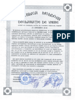 Declarație de Unire Cu România