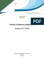 Australian Cancer Predictions