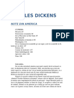 Charles Dickens - Note Din America