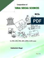 Compendium of  Agricultural Social Sciences