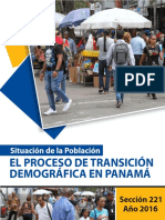 El Proceso de Transición Demográfica en Panamá