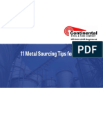 Metal Sourcing Tips for LNG Tanks eBook