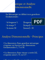 0 Analyse Dimensionnelle.cours