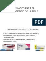 Farmacos Para El Tratamiento de La Dm 2