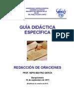 REDACCION DE ORACIONES 2017.pdf