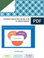 Cuidados Paliativos en Erc-V en El Adulto Mayor