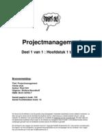 Project Management Samenvatting Grit