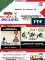 CARLOS TINOCO Semaforo Escuela