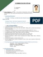 Ajay Kumar New CV Format