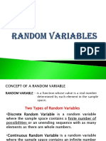 FINALS - Random Variables