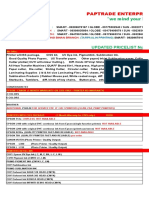 Paptrade Pricelist Jan 2015