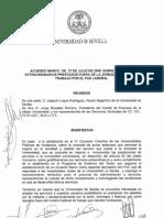 Acuerdo Especial Dedicacion
