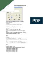 Código Programa Alumnos con Base de Datos Access