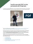 Pesi Elettorali FIGC Gravina 17%, Tommasi 20%, Sibilia 34%.