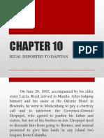 Rizal Deported to Dapitan(Full)