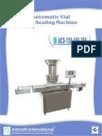 Automatic Vial Cap Sealing Machines