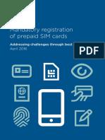 Biometric Sim Registration