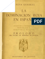 la guerra civil española - la causa general - la dominación roja en españa