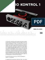 Audio Kontrol 1 Manual Spanish