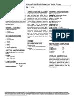 44 21850 Valspar Anti-Rust Galvanized Metal Primer