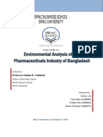 Business Environment Analysis of Bangladesh Pharma Industry