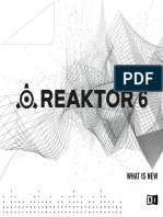 REAKTOR 6 What is New English