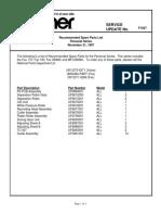 Fax170 190 290mc Mfc390mc Common Parts List