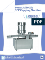 Automatic Bottle Screw/ROPP Capping Machine