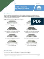 NE40E Series 240G Integrated Line Processing Units Data Sheet